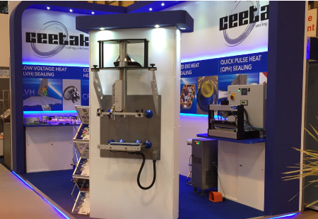 Ceetak exhibition stand at PPMA 2016