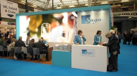 LED lights boosting your exhibition stand
