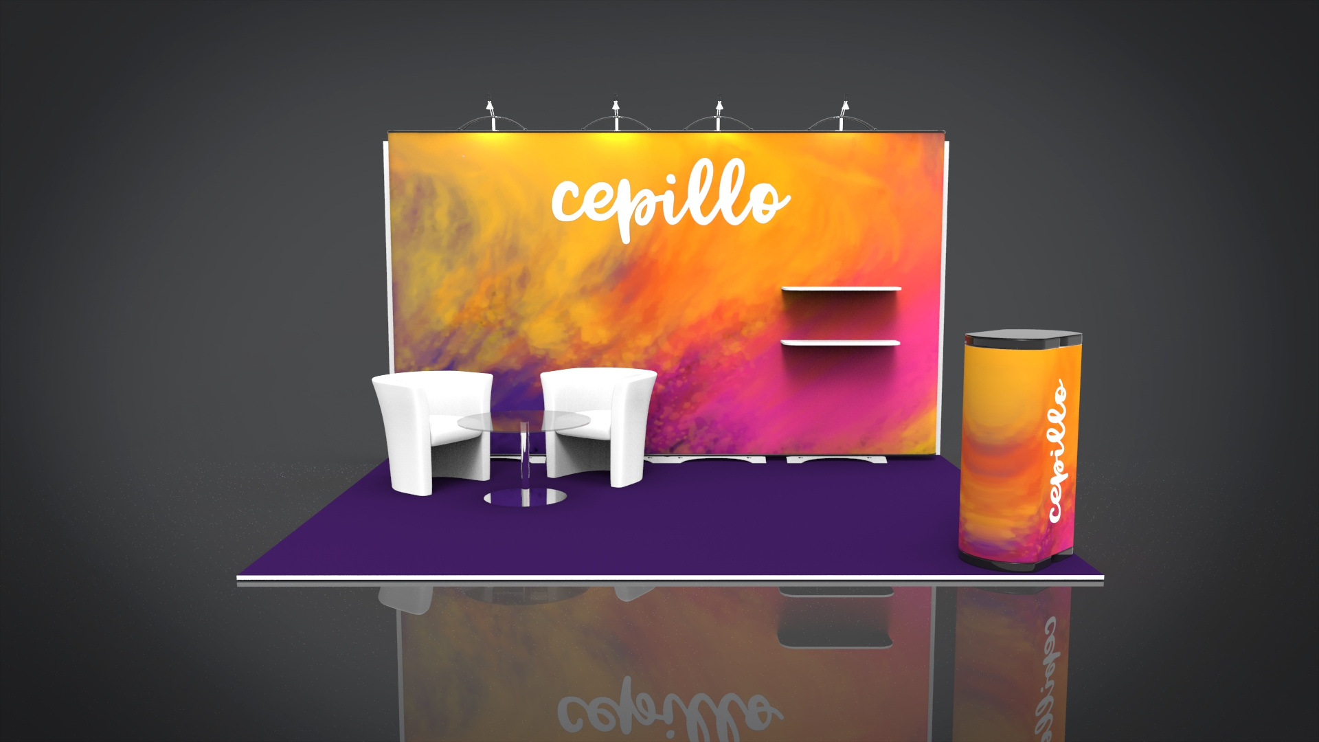 Exhibition Stand Carpet : Creative flooring ideas to transform your exhibition stand