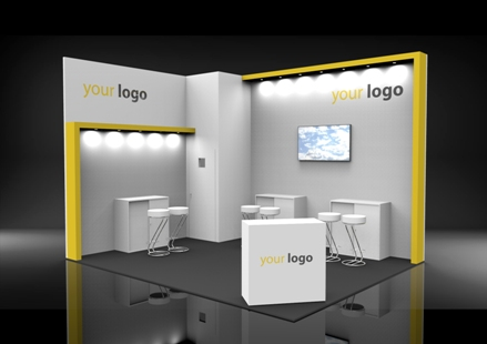 Package A bespoke exhibition stand
