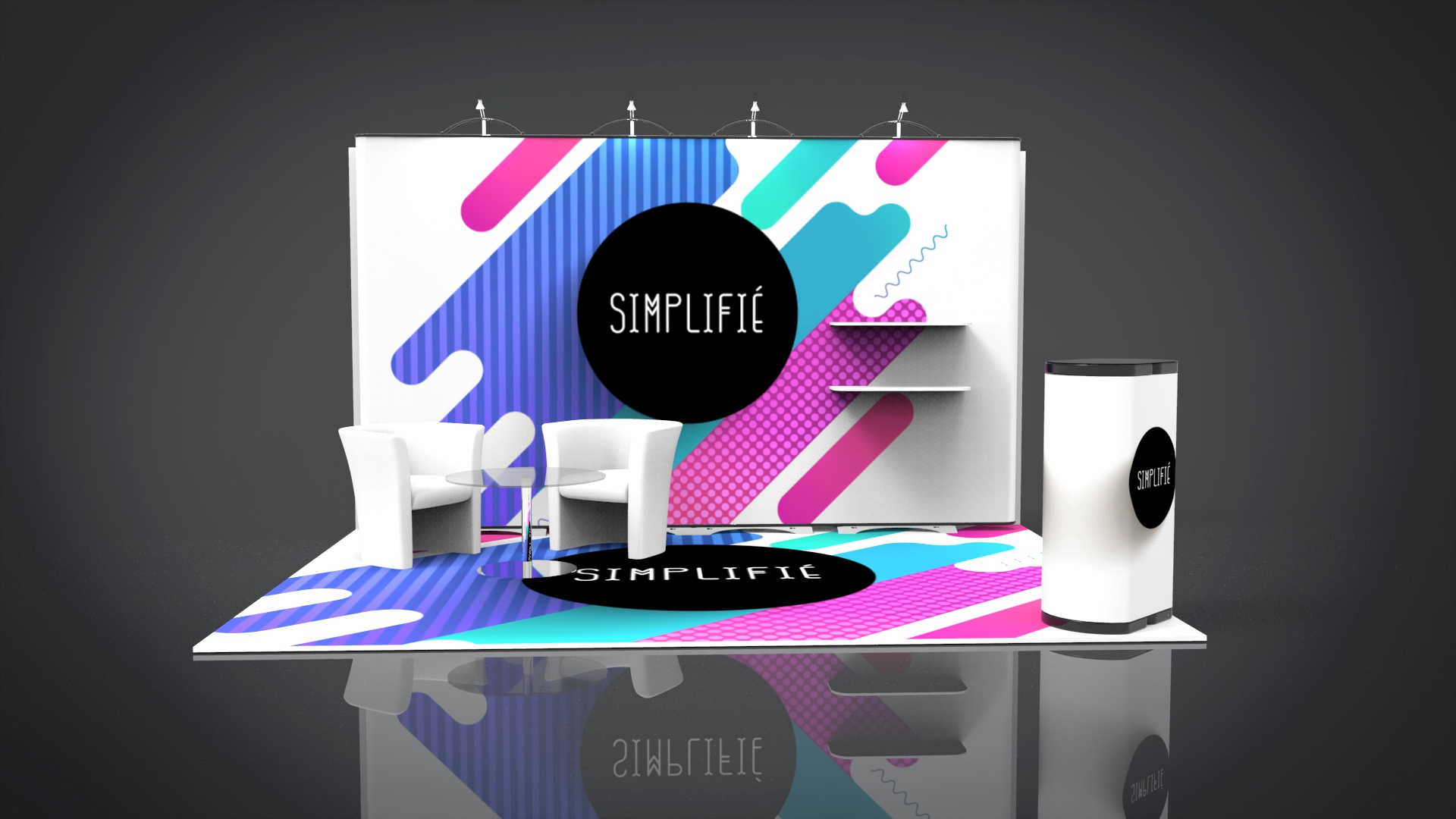 Design Your Exhibition Stand : Creative stand karis sticken