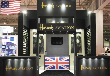 DWC Dubai for the Middle East Business Aviation exhibition