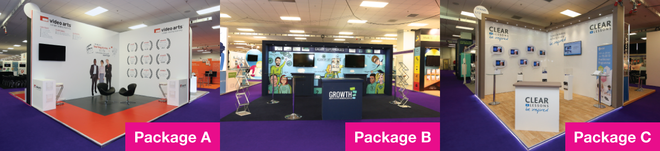 Exhibition Stand Packages : Bespoke exhibition stand packages all inclusive exhibition stand